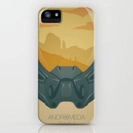Andromeda Travels - Wasteland iPhone Case