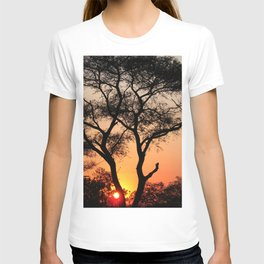 Sunset in Africa T-shirt