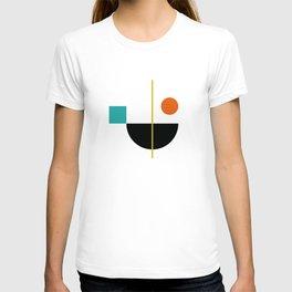DEK 02// Art Deco & Mid Century Minimalist Illustration T-shirt