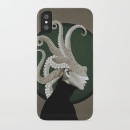 Octopus Portrait iPhone Case