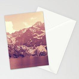 Vintage Landscape - Morskie Oko Stationery Cards