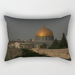 Dome of the Rock - Kipat Hasela - Qubbat As-Sakhrah - Jerusalem Rectangular Pillow