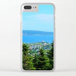 Bonaventure Island Clear iPhone Case
