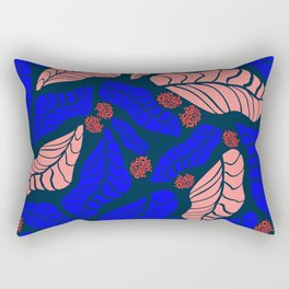 Bright bold floral designs for fashion and home Rectangular Pillow