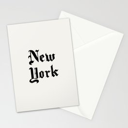 New York (Watercolor) Stationery Cards