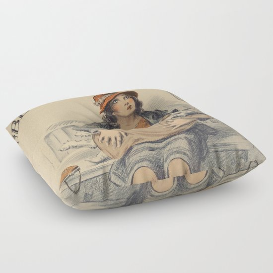 Animal Shaped Floor Pillows : Be Kind To Animals 4 Floor Pillow by Marlene Watson Society6