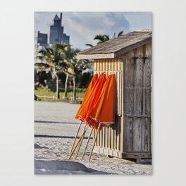 half a hut Canvas Print