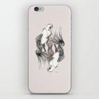 koi iPhone & iPod Skins featuring Koi by Heaven7