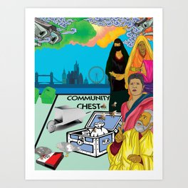 Community Chest Art Print