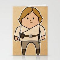 luke hemmings Stationery Cards featuring Luke by thejrowe