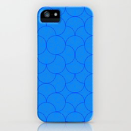 Circle Pattern #10 - Living Hell iPhone Case