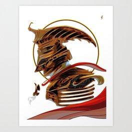 The Admiral Art Print