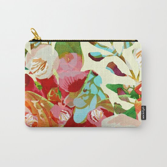 clown floral Carry-All Pouch