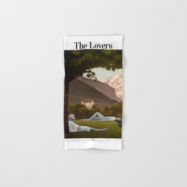 The Lovers Hand & Bath Towel