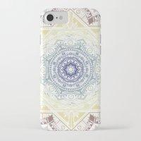 henna iPhone & iPod Cases featuring Mandala Henna by Liz Slome