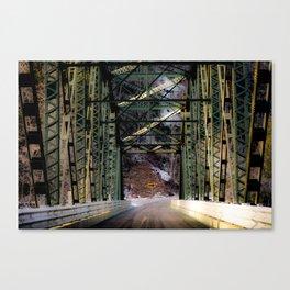Wrong Turn Canvas Print