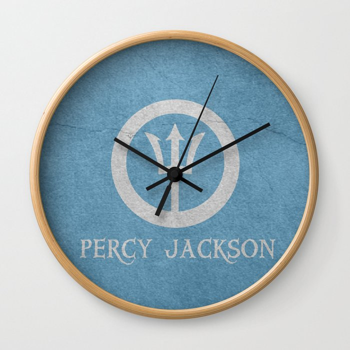 Percy Jackson Wall Clock