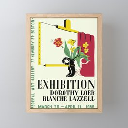 Loeb/Lazzell Exhibition Framed Mini Art Print