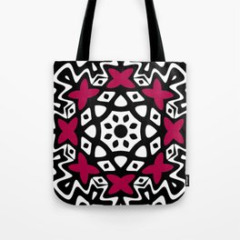 Geometric Butterfly Tote Bag