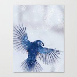 Winter Flight 2/2 Canvas Print