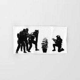 Police brutality coming up Hand & Bath Towel