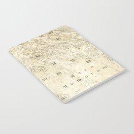 Antique Moon Map Notebook