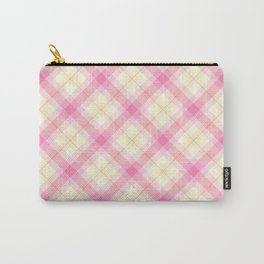Summer Plaid 7 Carry-All Pouch