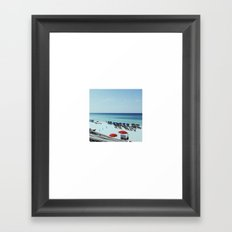 YAY! Summer discount on all wall art & free shipping!! Framed Art Print