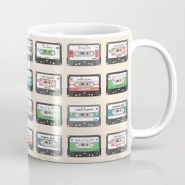 Vintage Mix Tapes Coffee Mug