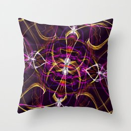 Sands of Time Contrast Throw Pillow