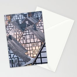 Historic half-timbered houses of Germany Stationery Cards