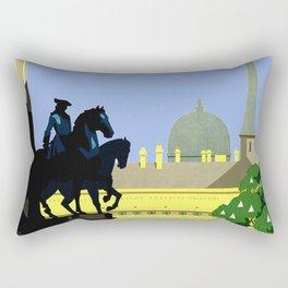 Vienna Austria Vintage Travel Rectangular Pillow