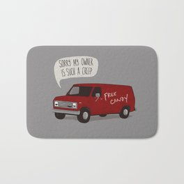 Creeper Van Bath Mat