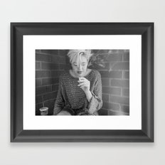 starbucks Framed Art Print
