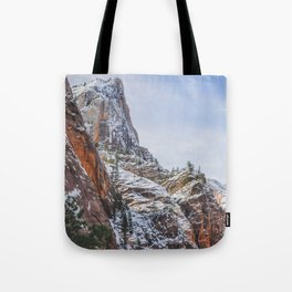 Zion's Great White Throne Tote Bag