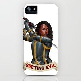 Paladin: Smiting Evil iPhone Case
