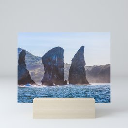 Kamchatka, Three brothers Mini Art Print