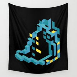 Yellow 21 Wall Tapestry