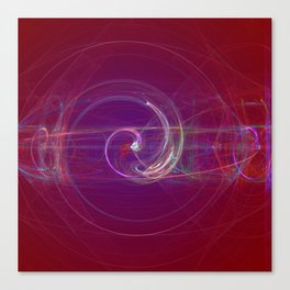 Spinning to Infinity Canvas Print