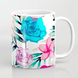 Elegant Watercolor Floral Art Coffee Mug