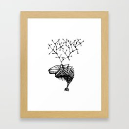 Bruce, the Genetically Modified Gecko Framed Art Print