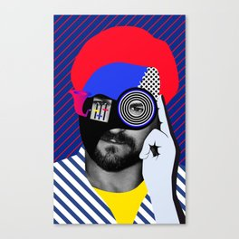 Solomun By Sebas Rivas Canvas Print