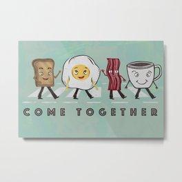 Come Together Metal Print