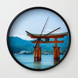 Miyajima Floating Gate Wall Clock