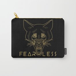 Fearless Wolf Carry-All Pouch