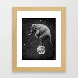 Big Top Framed Art Print