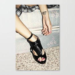 crazy/beautiful Canvas Print
