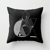 metropolis Throw Pillows featuring Metropolis by Federico Leocata LTD