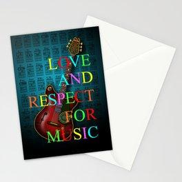 KuuMa Guitar Stationery Cards