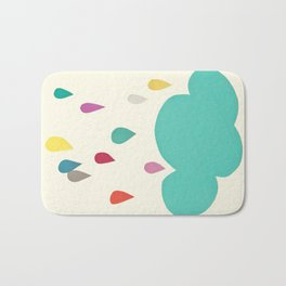 Sunshine and Showers Bath Mat